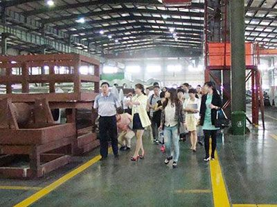 The delegation of national circular economy association visited the company for guidance